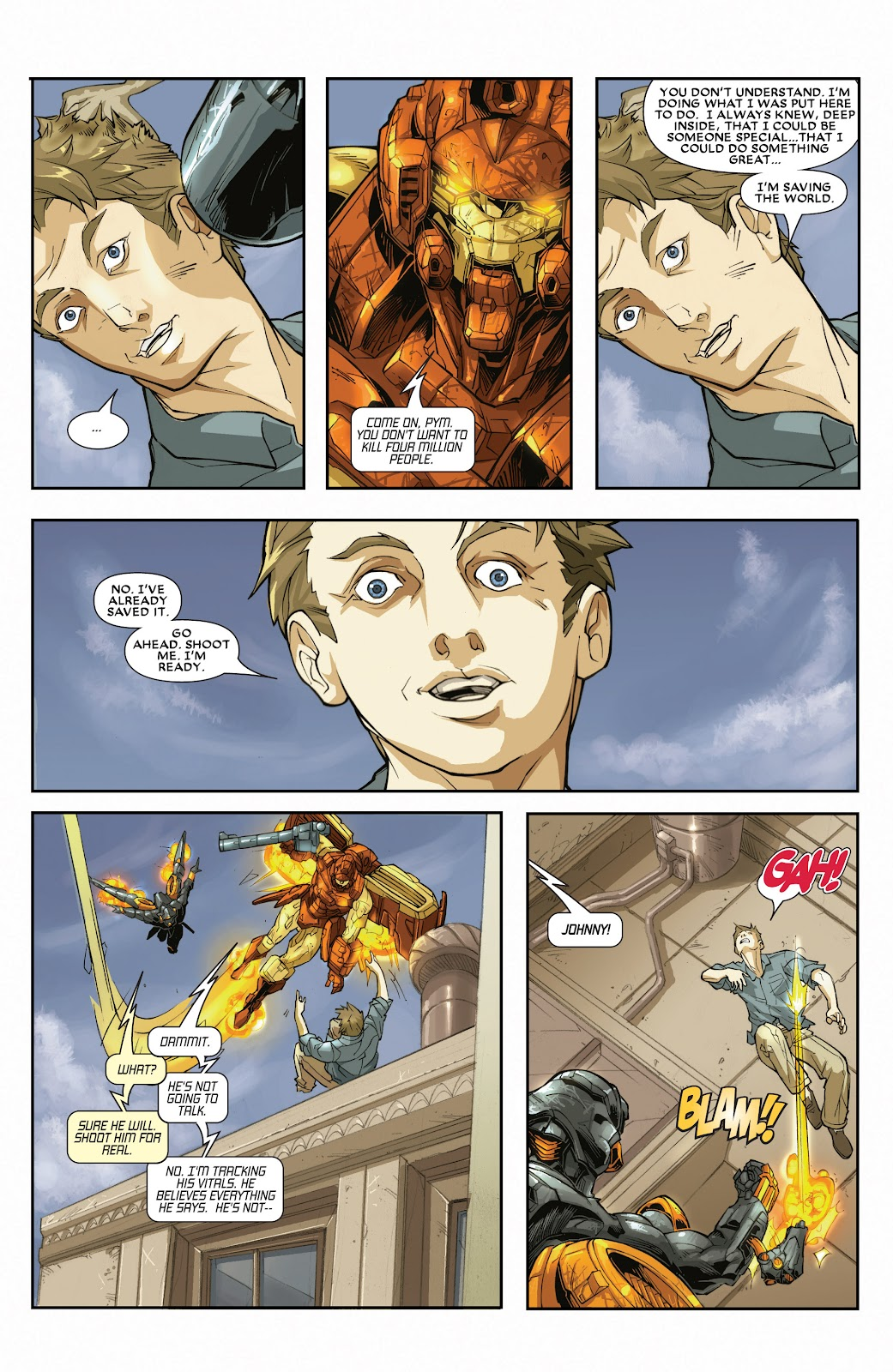 Iron Man: House of M Issue #3 #3 - English 4