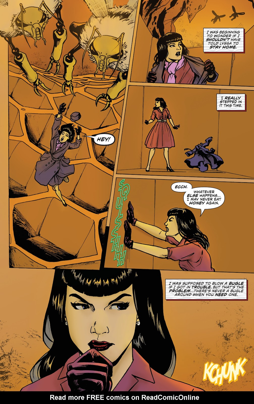 Read online Bettie Page: Unbound comic -  Issue #7 - 10