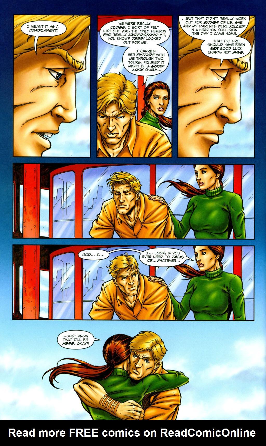 Read online Snake Eyes: Declassified comic -  Issue #6 - 10