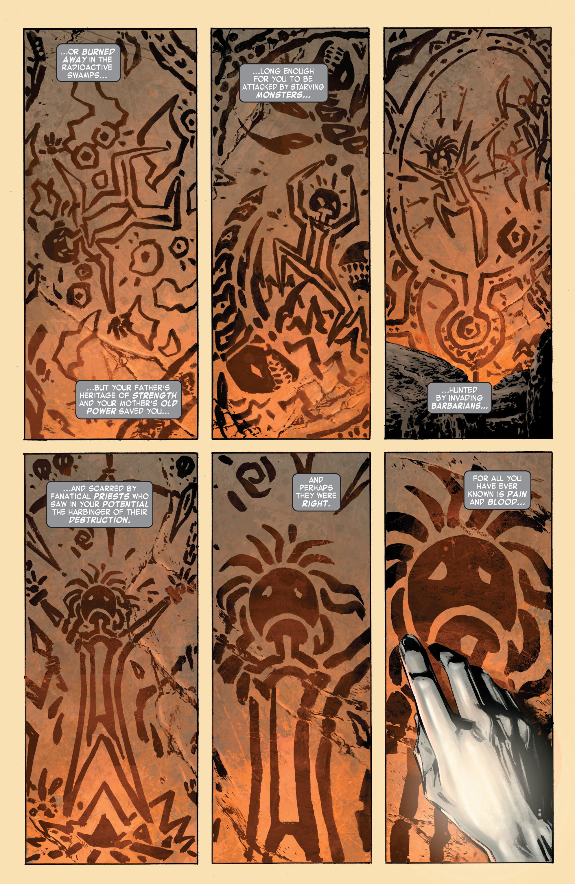 Read online Skaar: Son of Hulk comic -  Issue #7 - 4