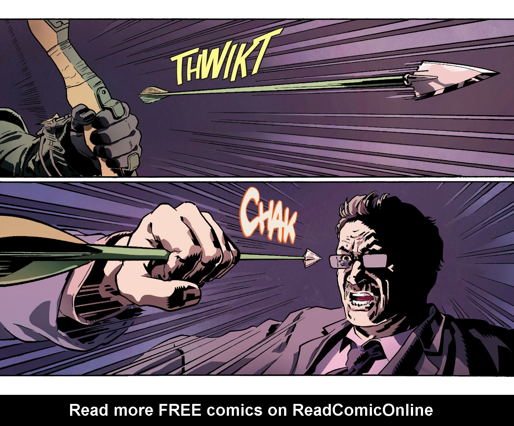 Read online Arrow [II] comic -  Issue #2 - 12