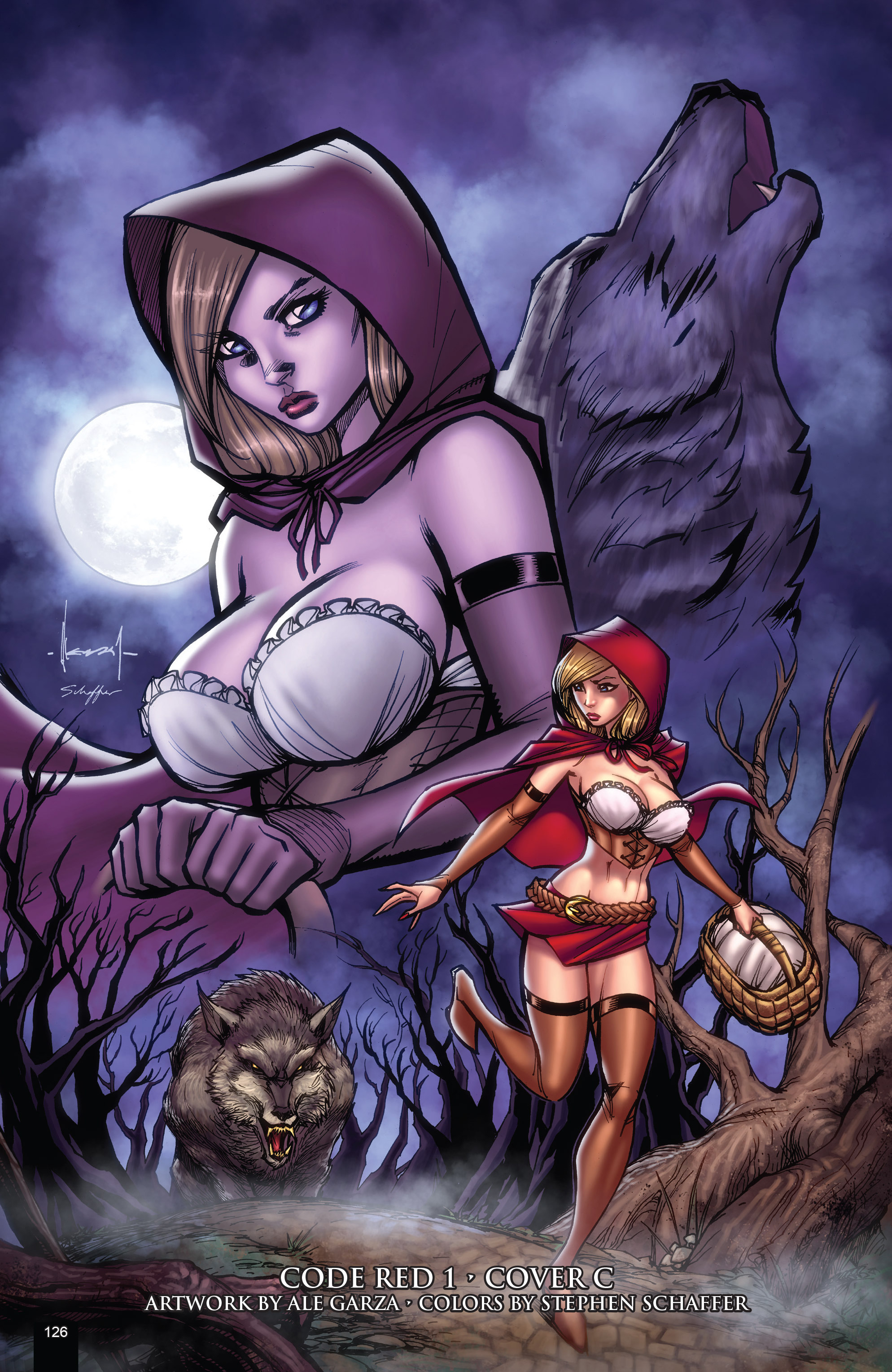 Read online Grimm Fairy Tales presents Code Red comic -  Issue # TPB - 126