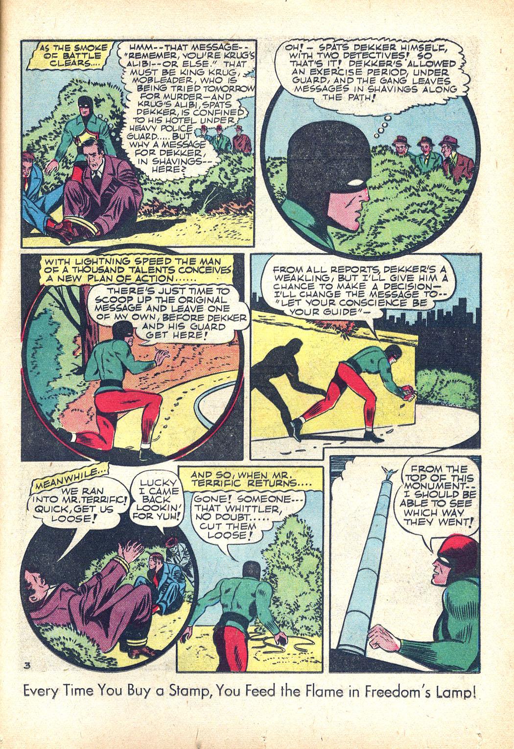 Read online Sensation (Mystery) Comics comic -  Issue #34 - 35