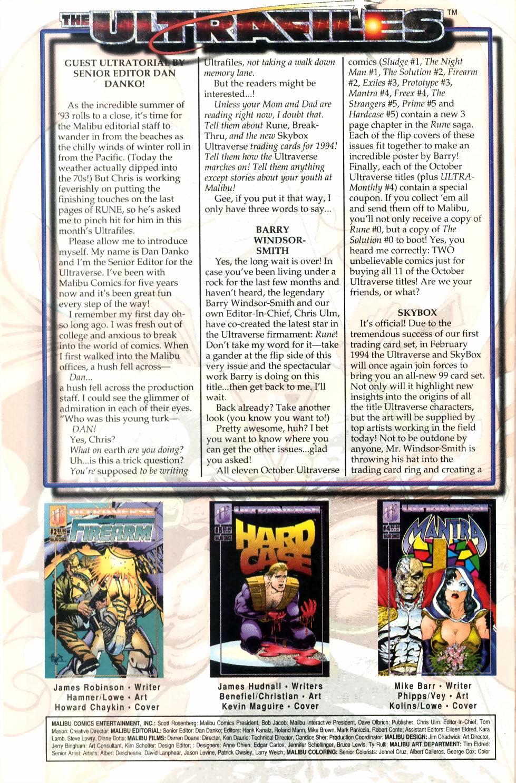 Read online Sludge comic -  Issue #1 - 27