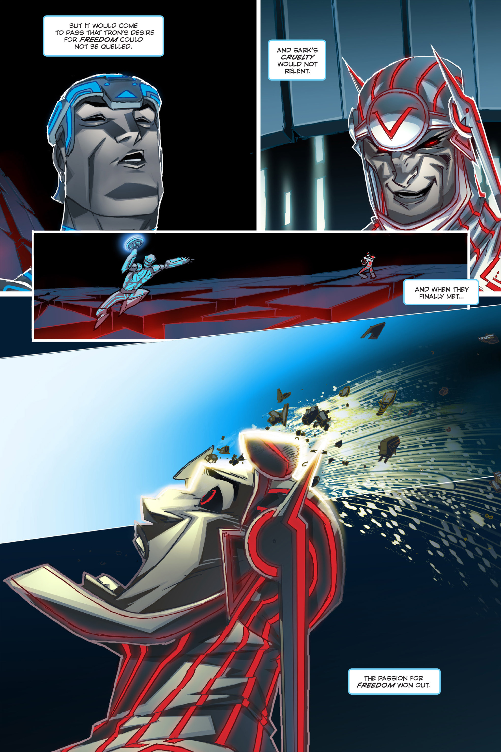 Read online TRON: Betrayal comic -  Issue # TPB - 10