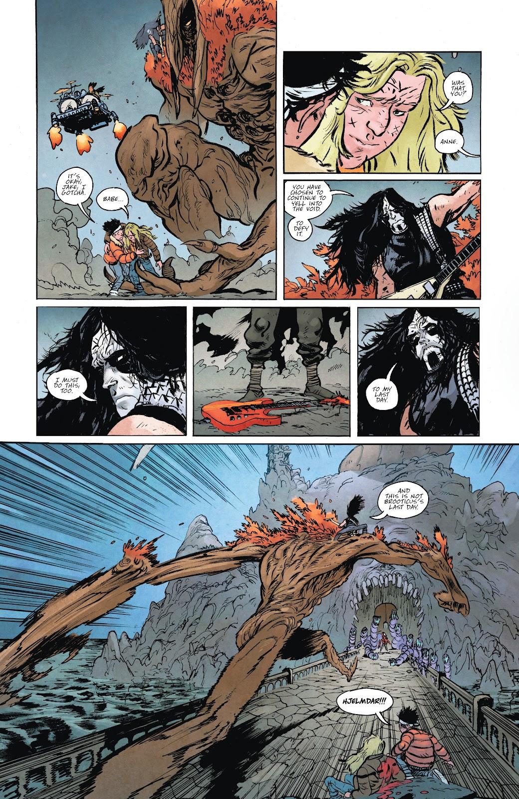 Read online Murder Falcon comic -  Issue #6 - 22