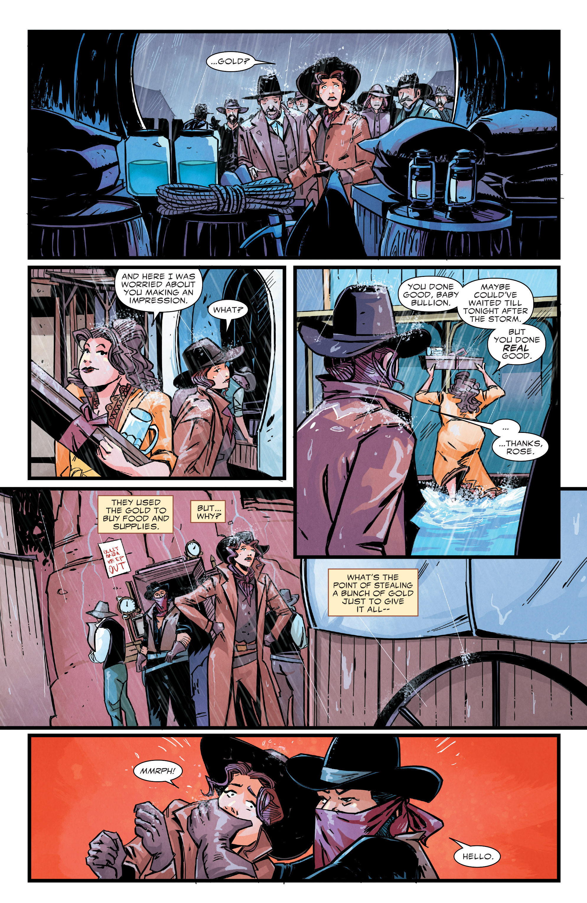 Read online Big Thunder Mountain Railroad comic -  Issue #3 - 12
