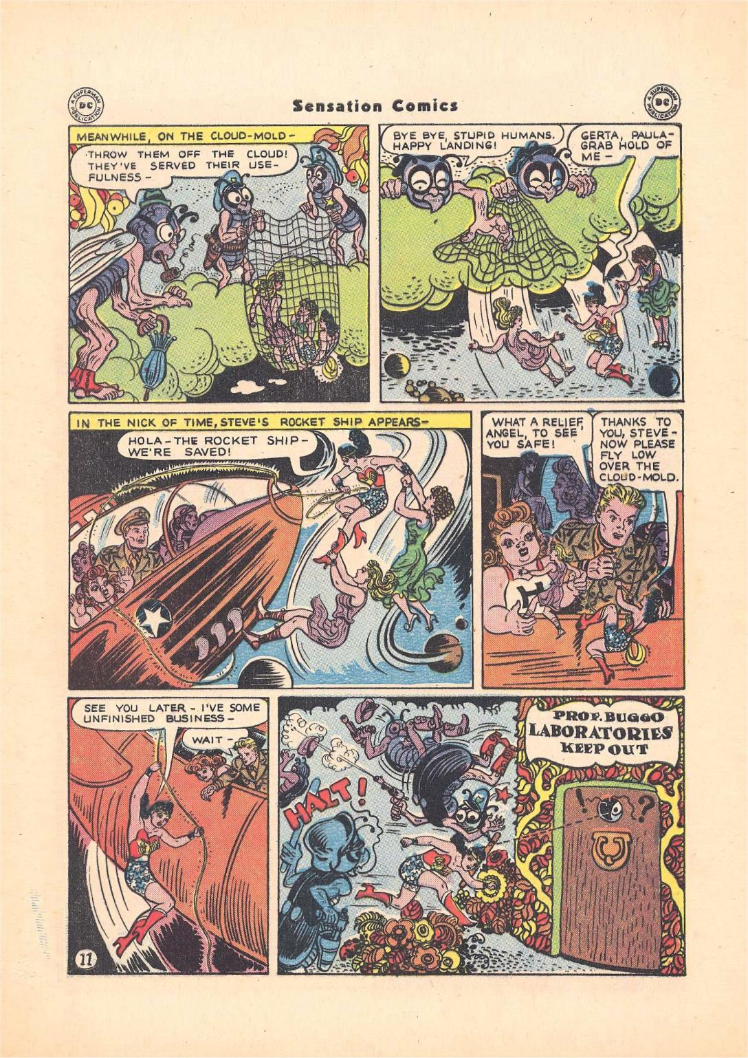 Read online Sensation (Mystery) Comics comic -  Issue #55 - 13