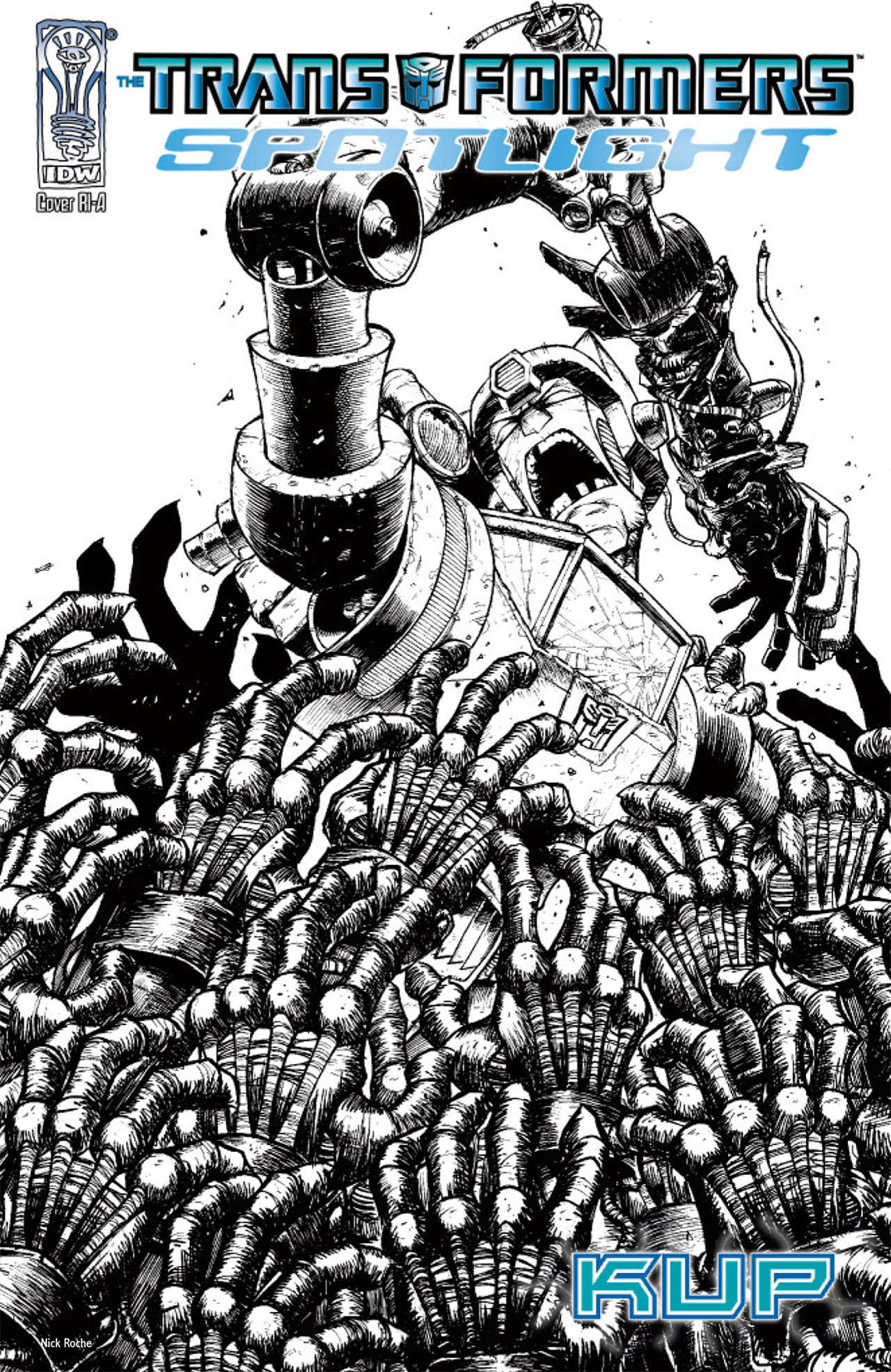 Read online Transformers Spotlight: Kup comic -  Issue # Full - 2