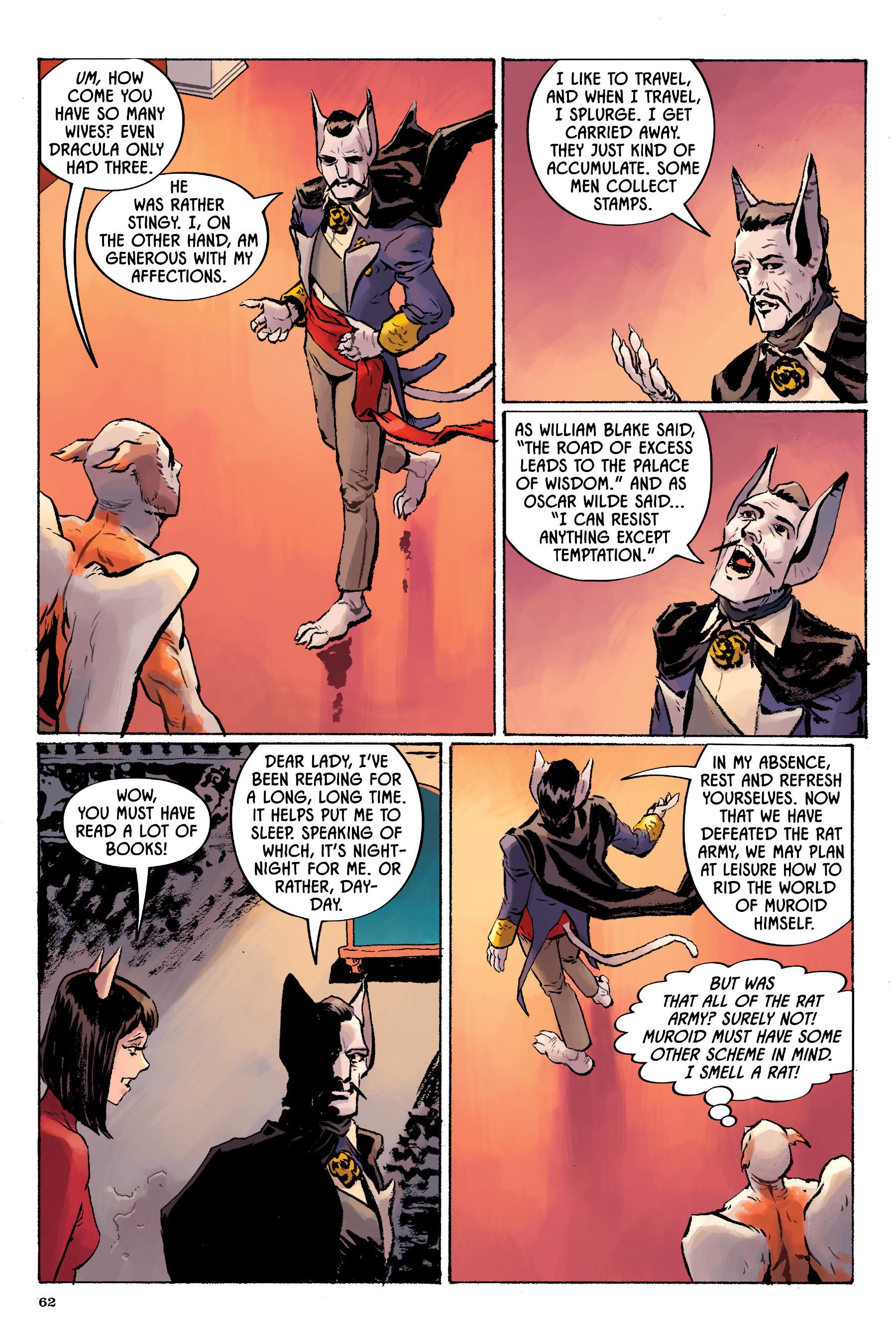 Read online Angel Catbird comic -  Issue # TPB 2 - 63