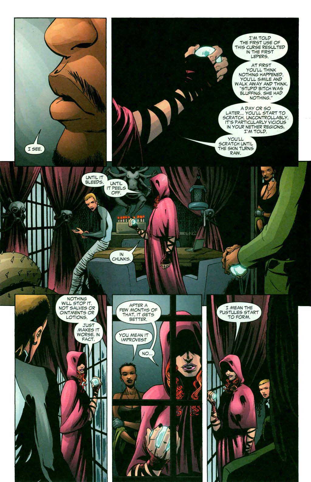 Read online Fallen Angel (2003) comic -  Issue #11 - 12