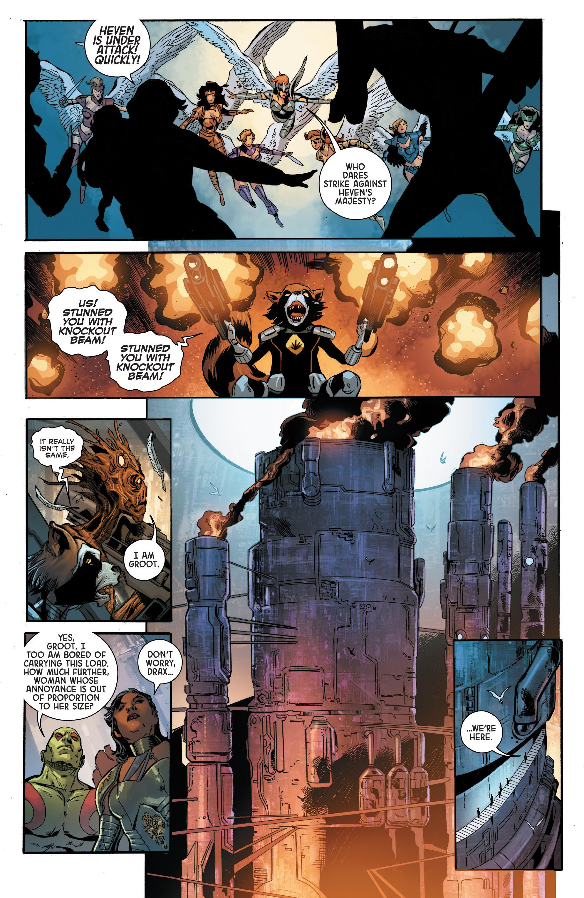 Read online Angela: Asgard's Assassin comic -  Issue #5 - 13