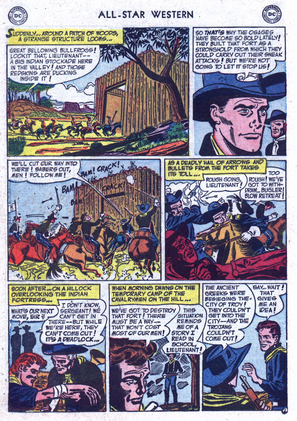 Read online All-Star Western (1951) comic -  Issue #71 - 20