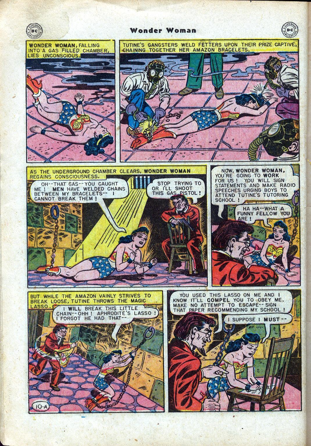 Read online Wonder Woman (1942) comic -  Issue #24 - 12
