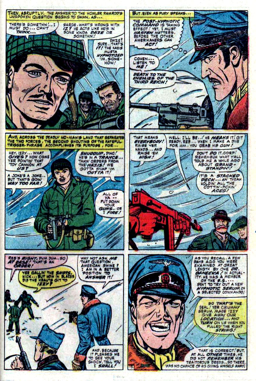 Read online Sgt. Fury comic -  Issue #32 - 21