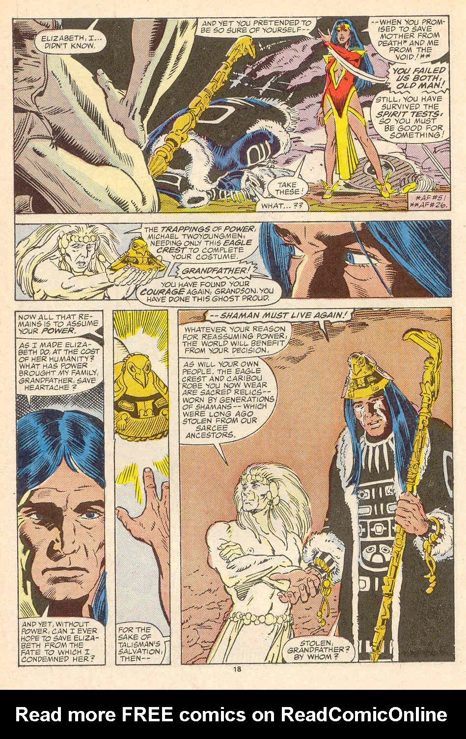 Read online Alpha Flight (1983) comic -  Issue #35 - 19