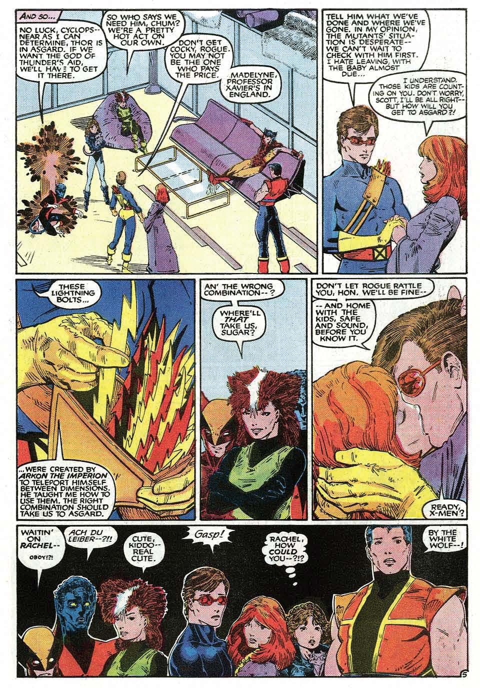 Read online Uncanny X-Men (1963) comic -  Issue # _Annual 9 - 7