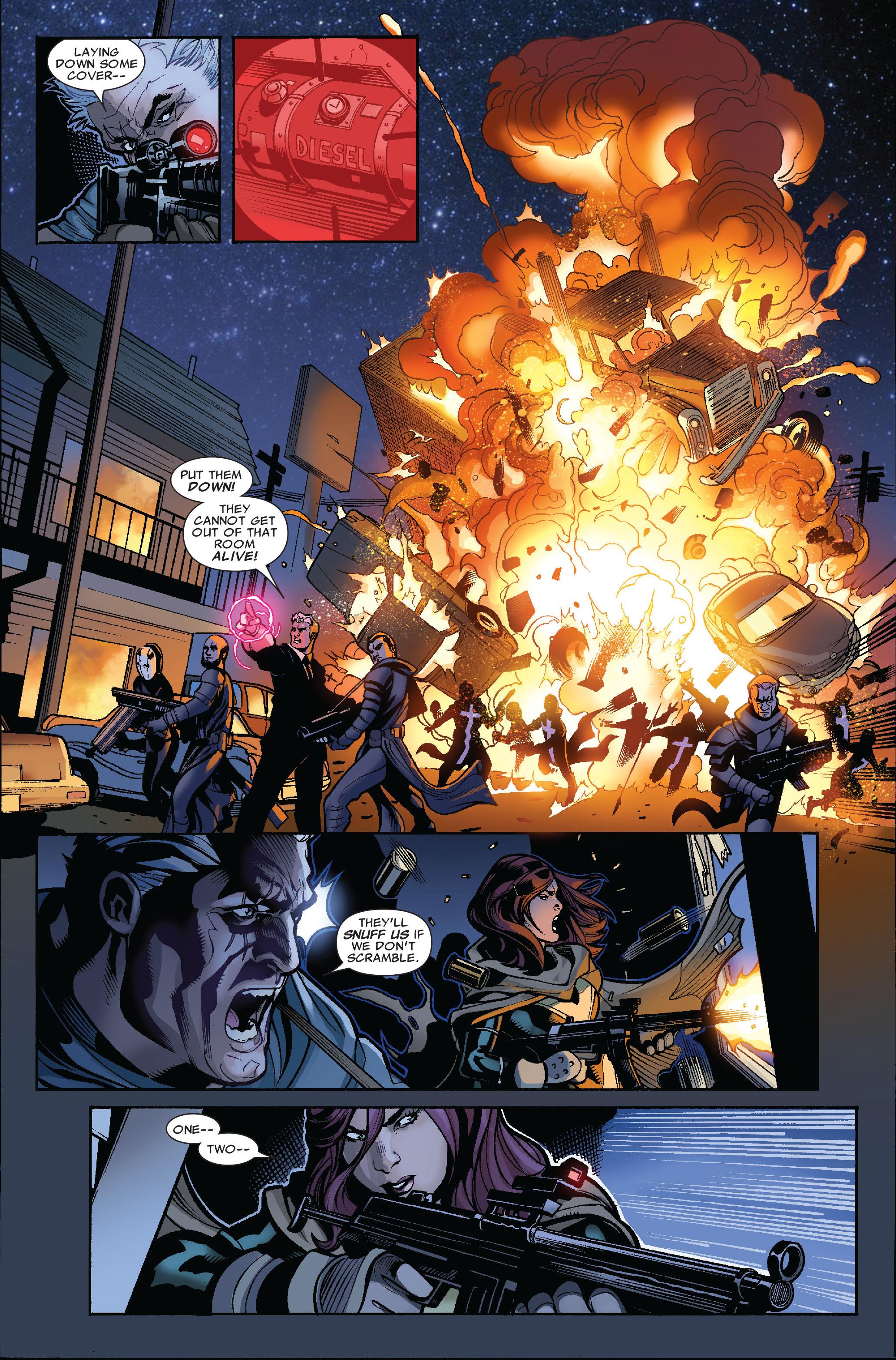 Read online Uncanny X-Men (1963) comic -  Issue #523 - 21