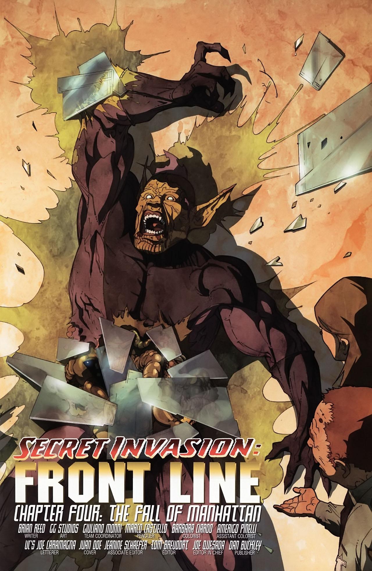 Read online Secret Invasion: Front Line comic -  Issue #4 - 7