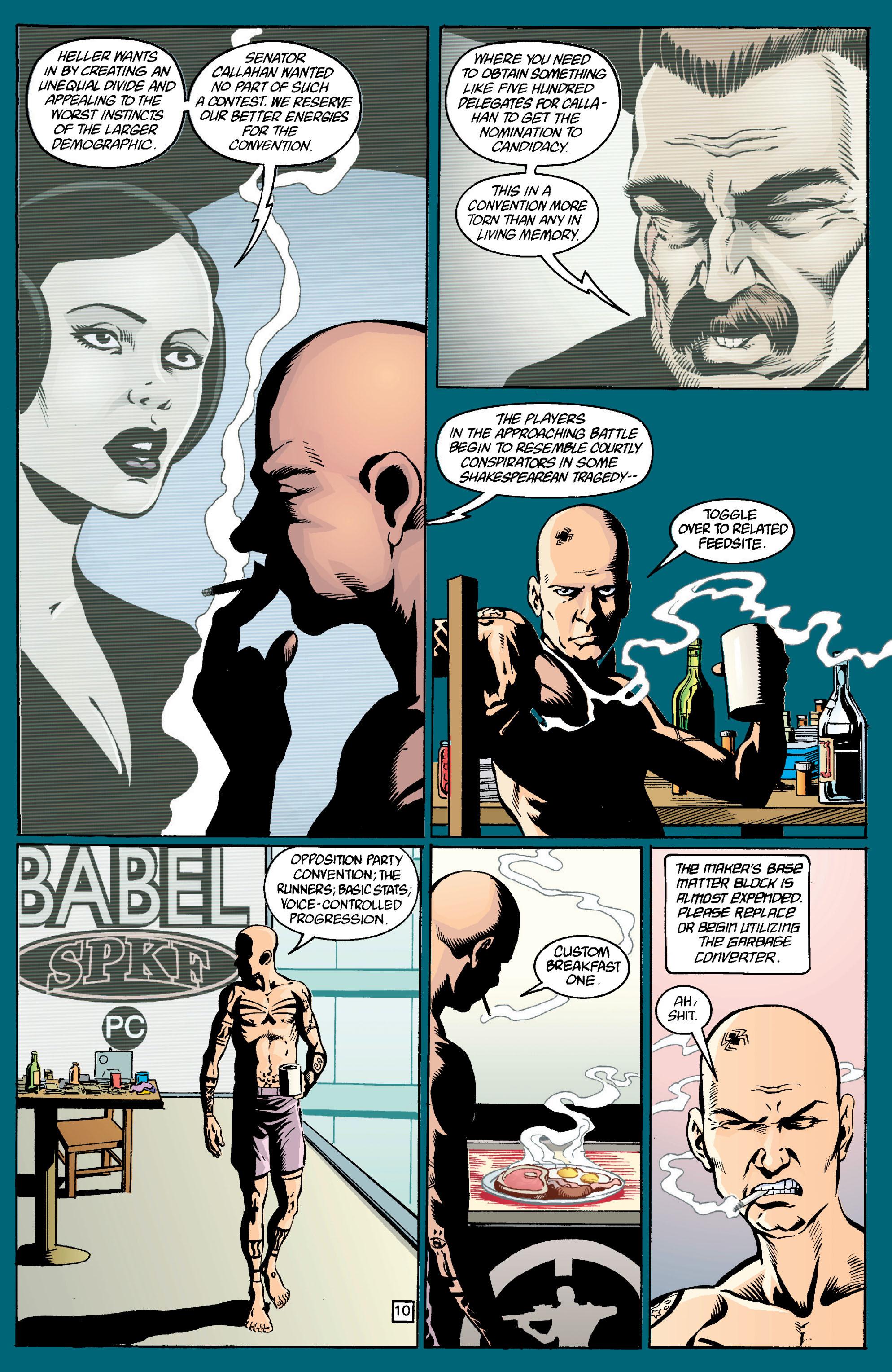 Read online Transmetropolitan comic -  Issue #13 - 11