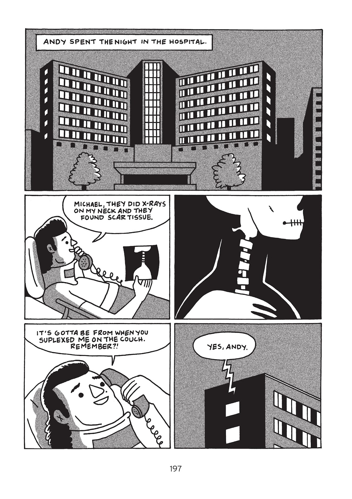 Read online Is This Guy For Real?: The Unbelievable Andy Kaufman comic -  Issue # TPB (Part 3) - 2