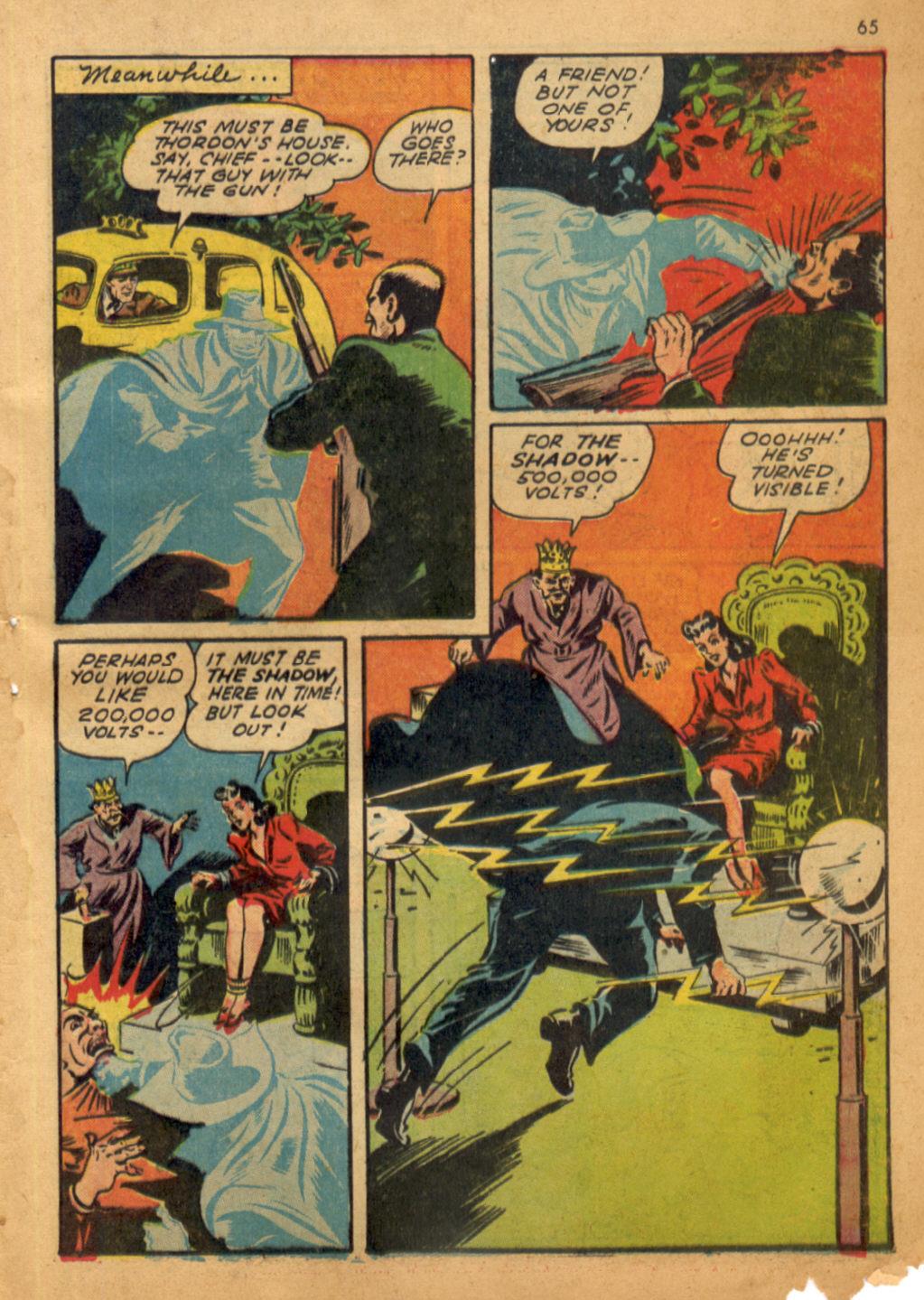 Read online Shadow Comics comic -  Issue #32 - 66