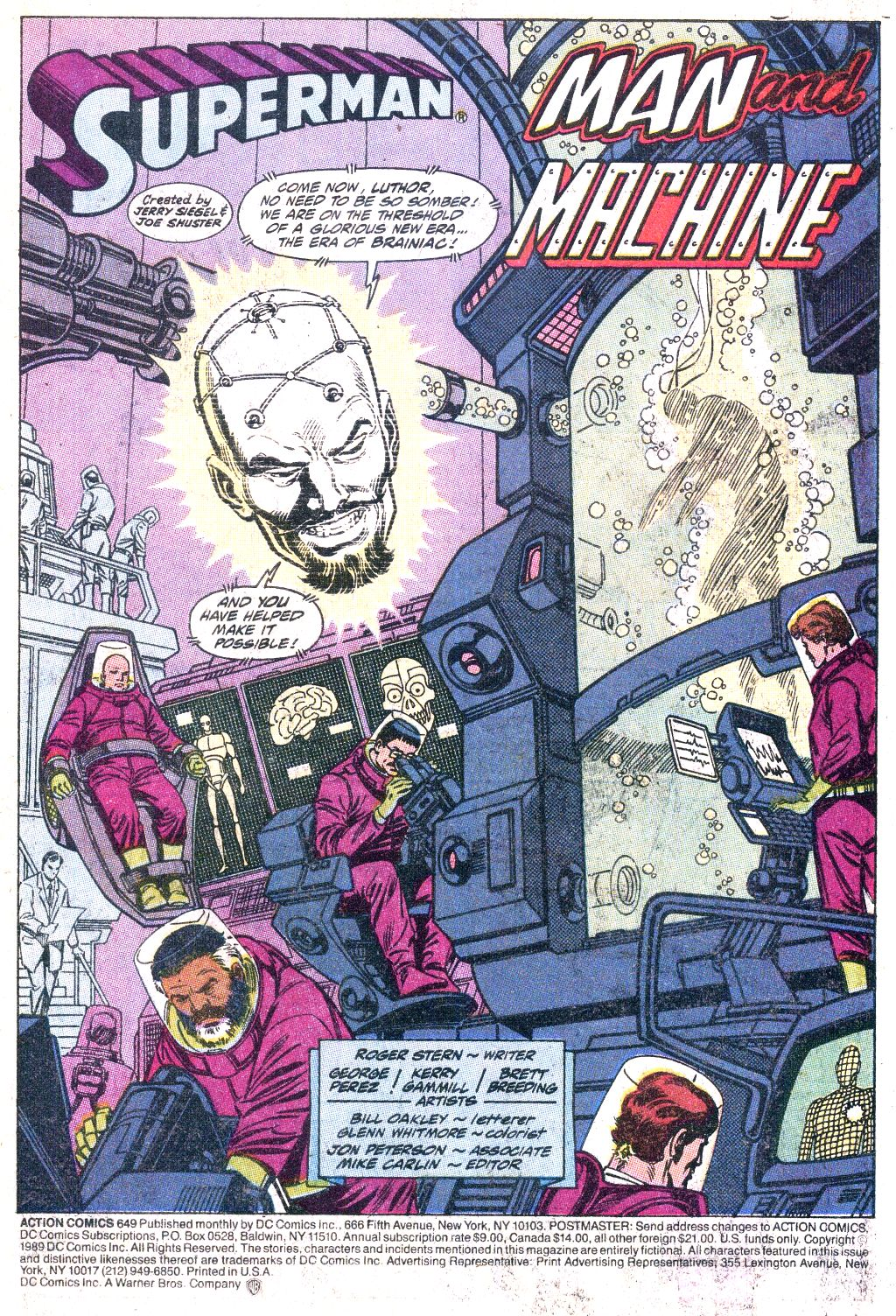 Action Comics (1938) 649 Page 2