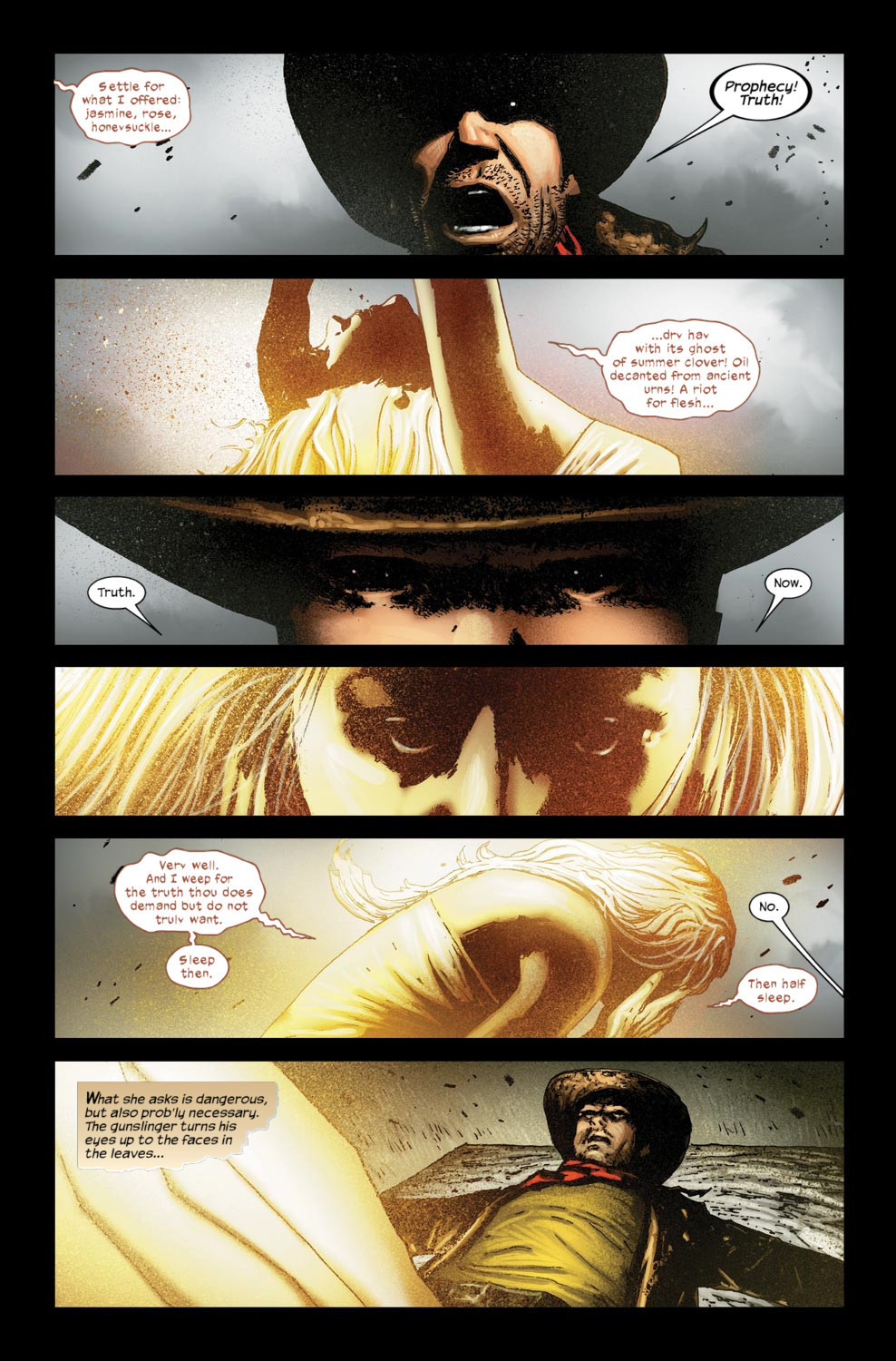 Read online Dark Tower: The Gunslinger - The Way Station comic -  Issue #5 - 13