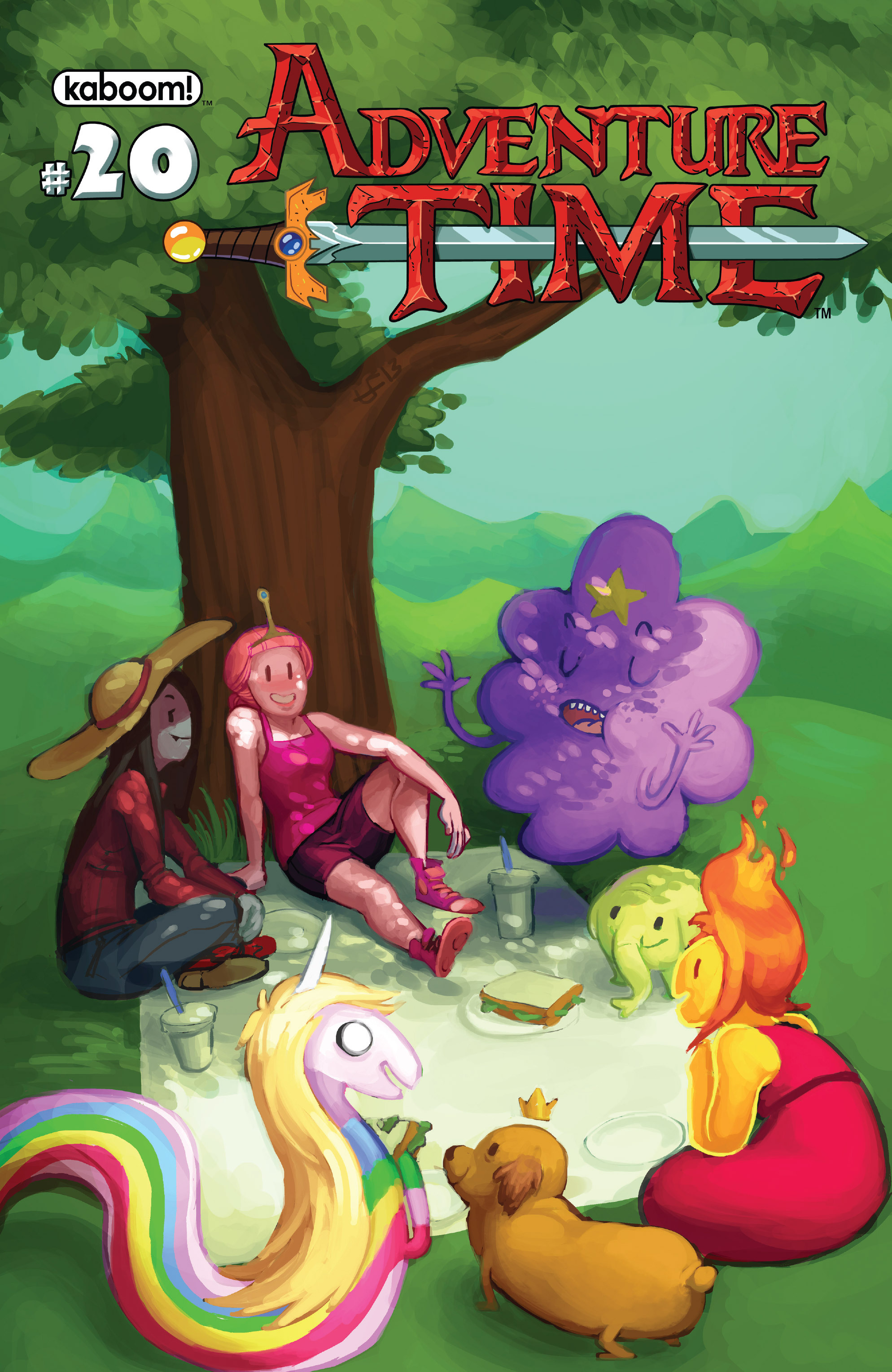 Read online Adventure Time comic -  Issue #20 - 2