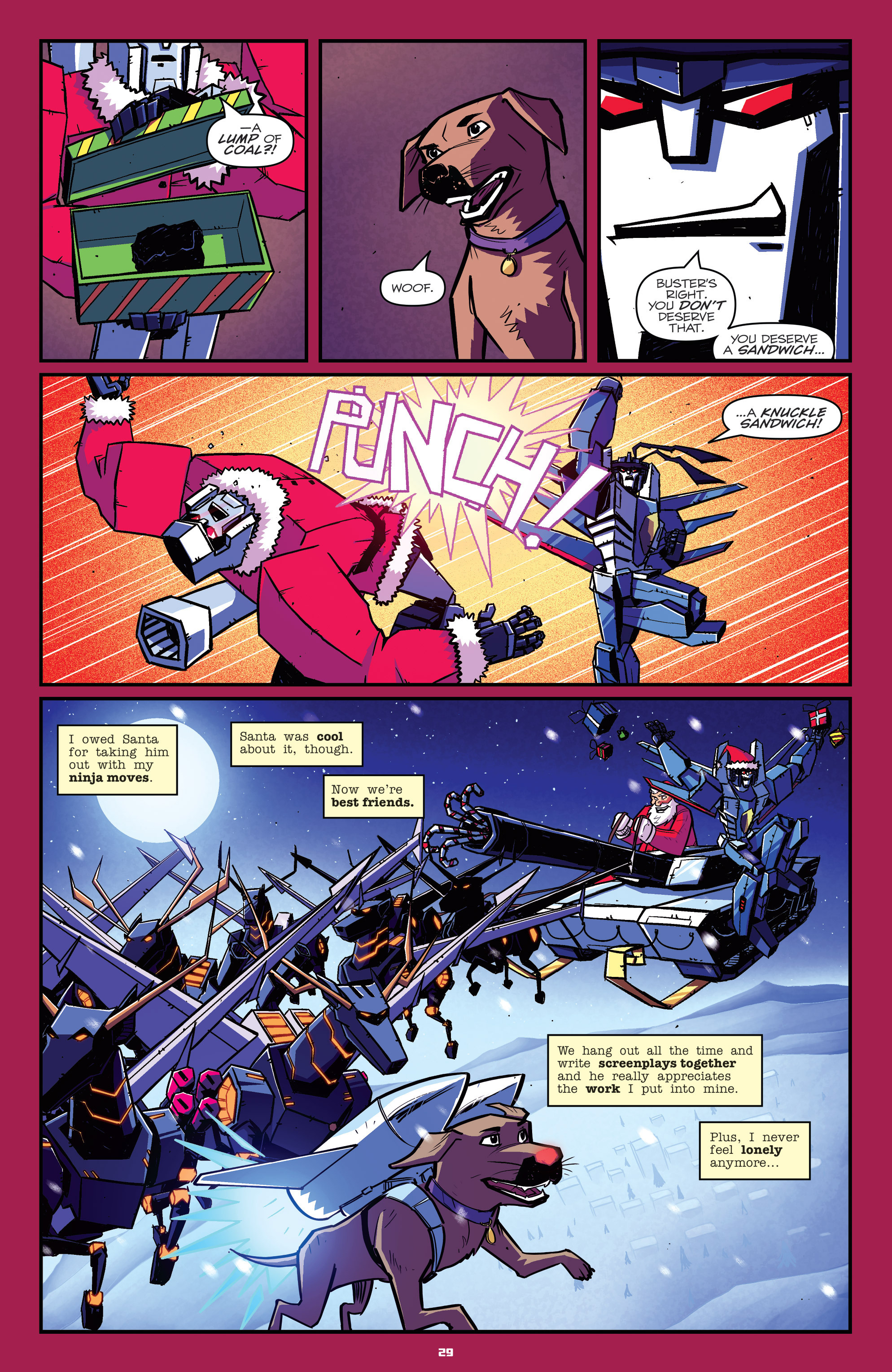 Read online Transformers: Holiday Special comic -  Issue # Full - 31