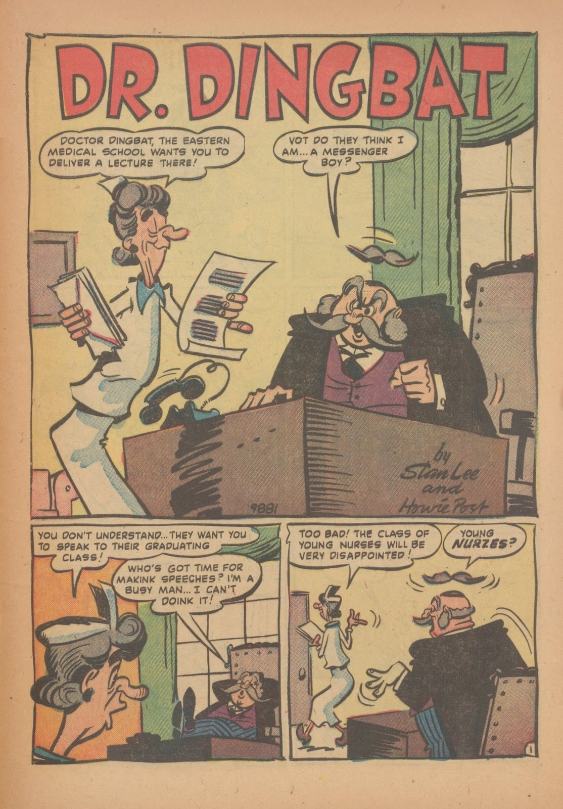 Read online Nellie The Nurse (1945) comic -  Issue #34 - 29