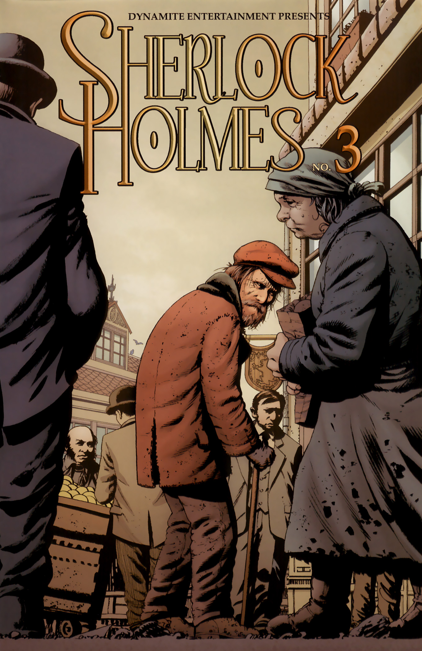 Read online Sherlock Holmes (2009) comic -  Issue #3 - 1