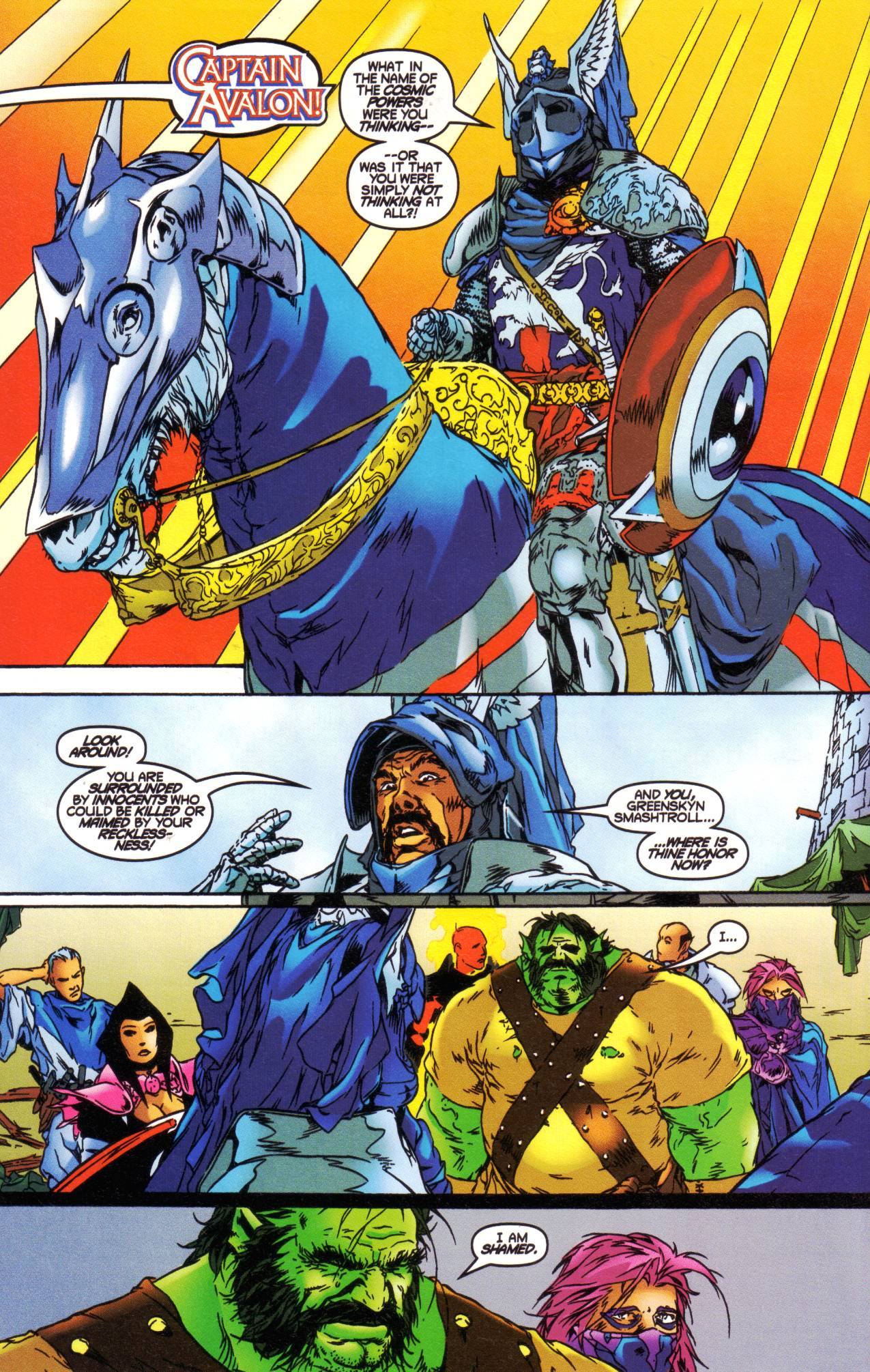 Read online Avataars: Covenant of the Shield comic -  Issue #1 - 12