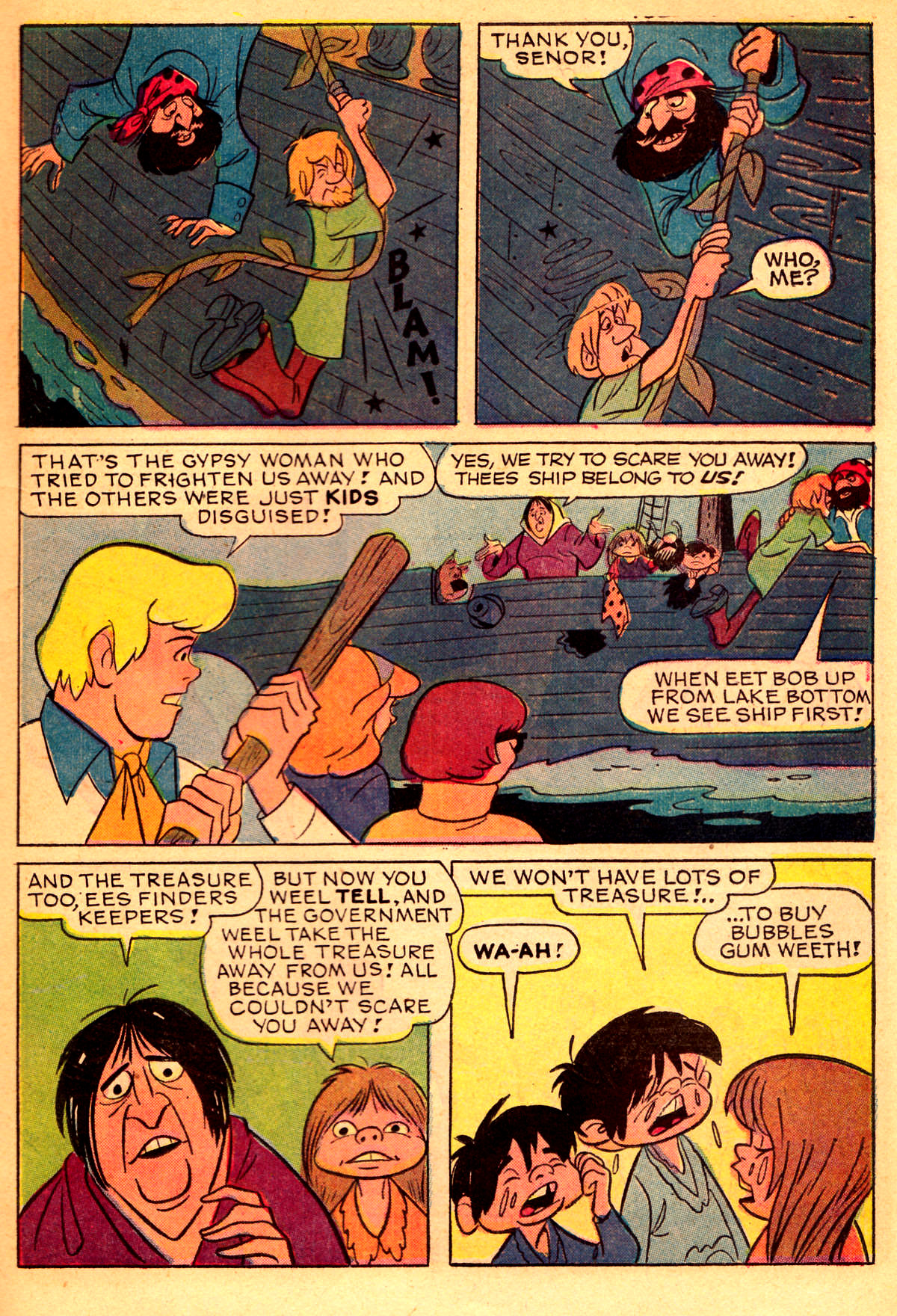 Read online Scooby-Doo... Where Are You! (1970) comic -  Issue #2 - 14