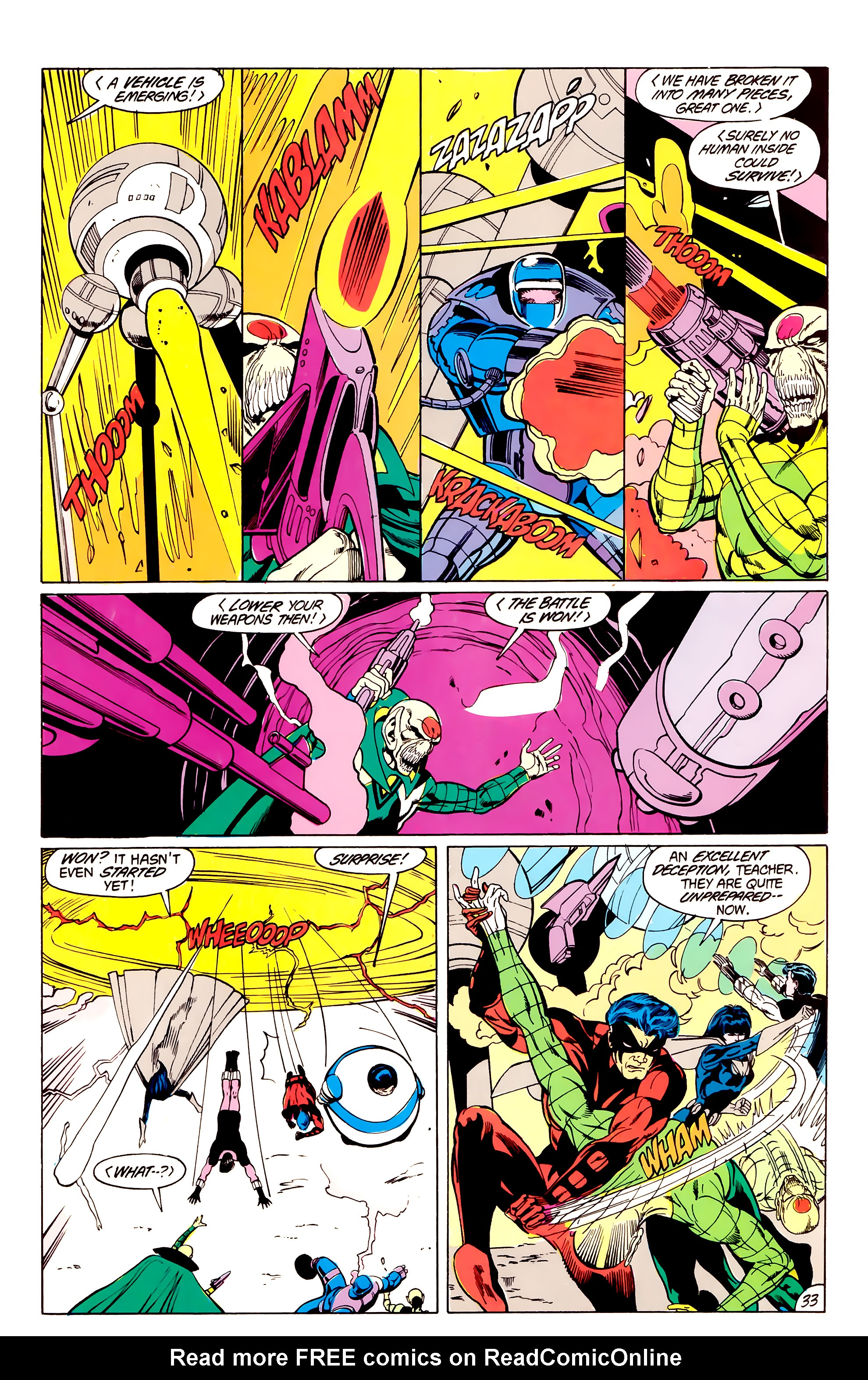 Legion of Super-Heroes (1984) _Annual_3 Page 33