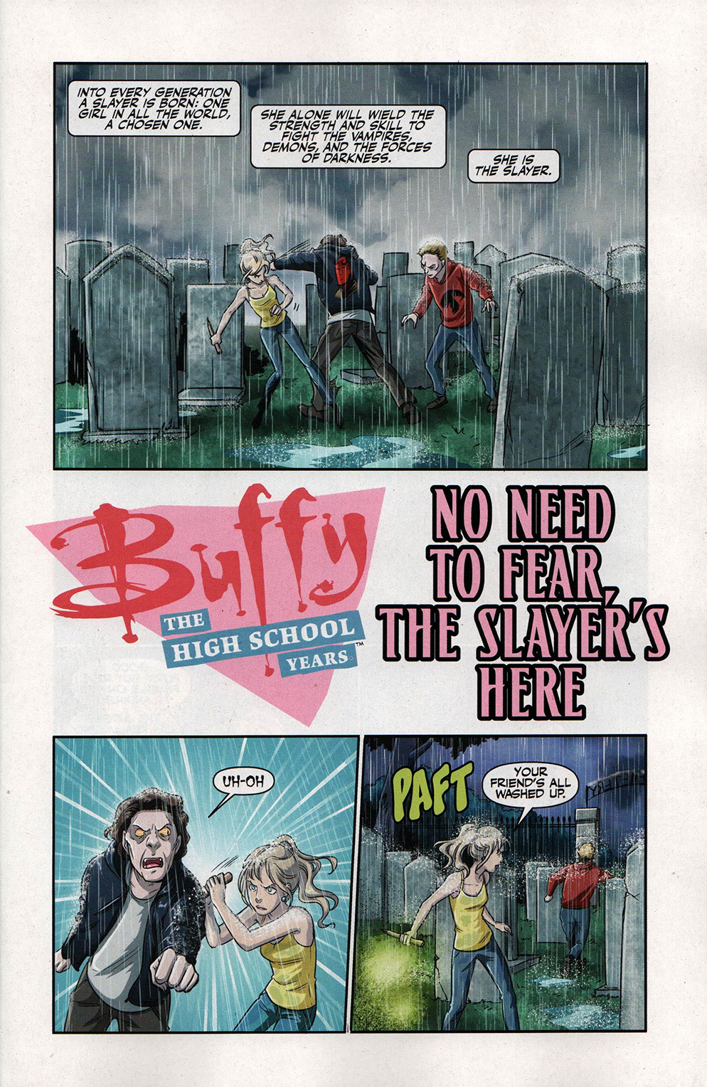 Read online Free Comic Book Day 2017 comic -  Issue # Buffy - Plants vs Zombies - 3