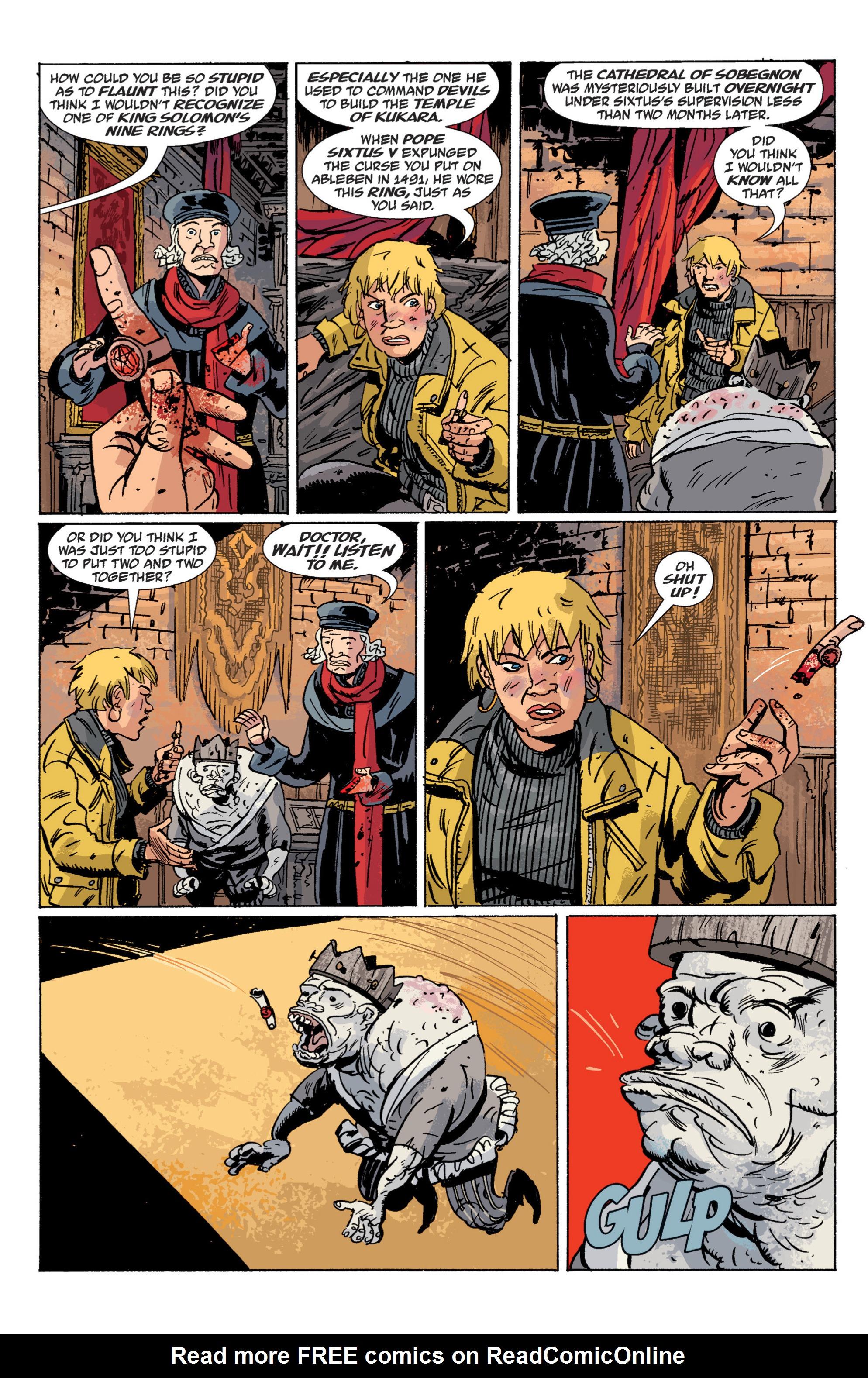 Read online B.P.R.D. (2003) comic -  Issue # TPB 6 - 121