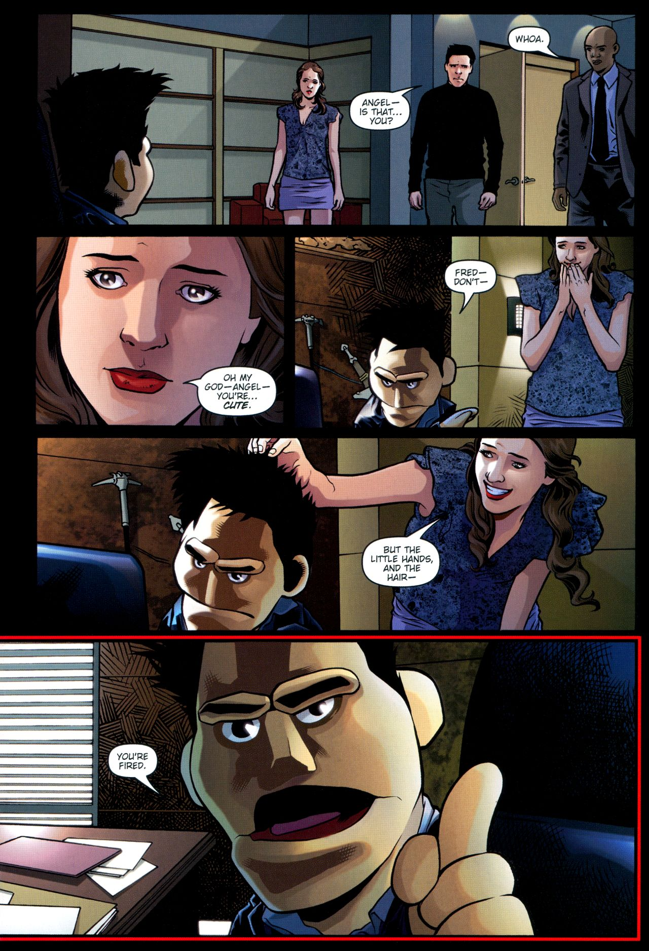 Read online Angel: Smile Time comic -  Issue #2 - 6