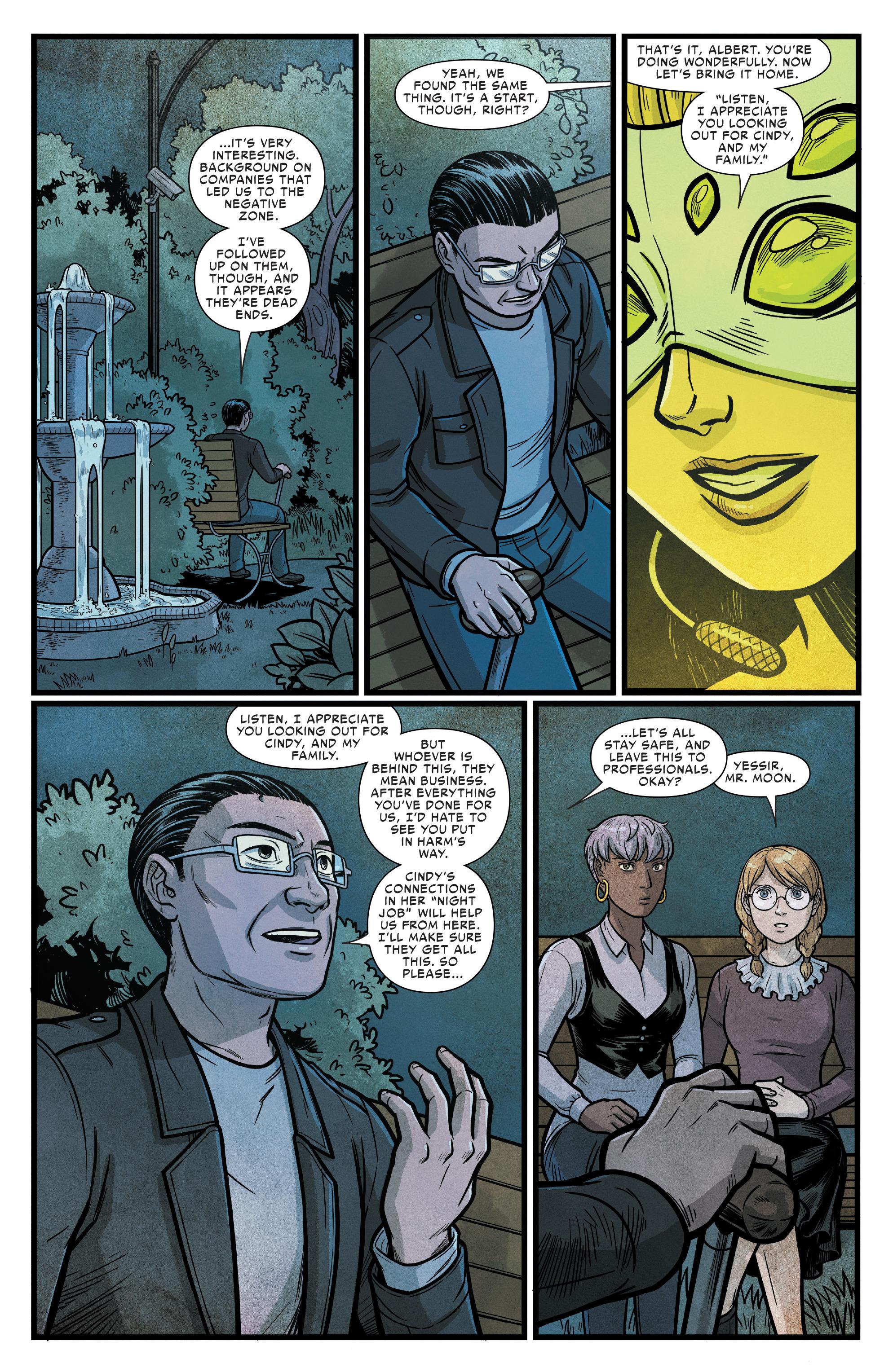 Read online Silk (2016) comic -  Issue #16 - 15