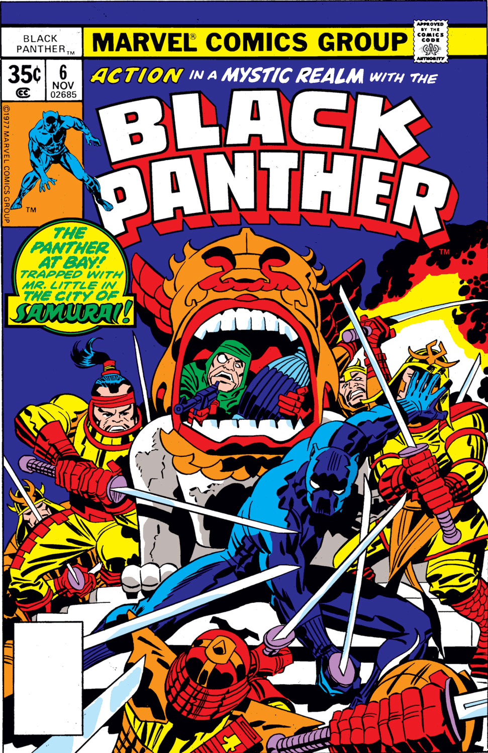 Black Panther (1977) issue 6 - Page 1