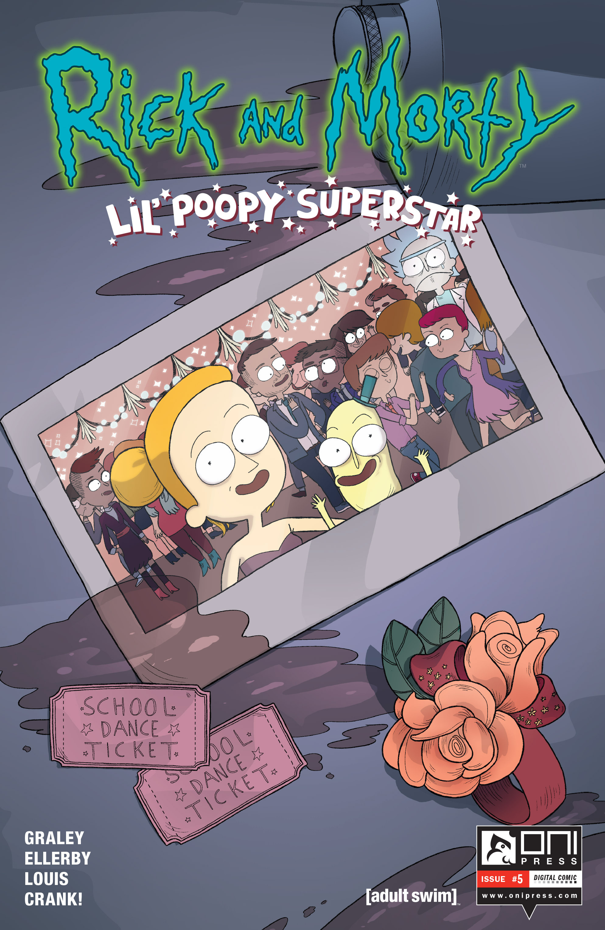 Rick and Morty: Lil Poopy Superstar 5 Page 1