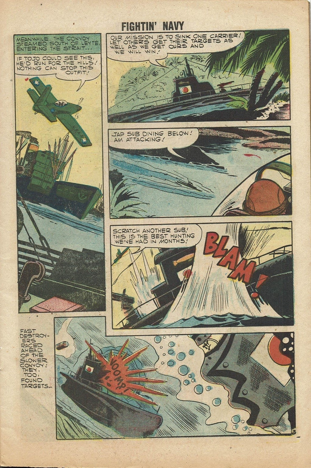 Read online Fightin' Navy comic -  Issue #81 - 11