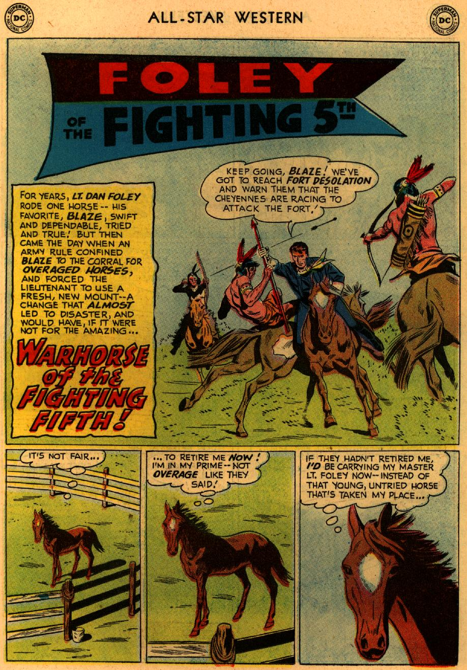Read online All-Star Western (1951) comic -  Issue #94 - 19