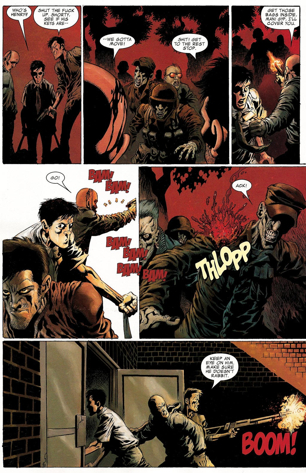 Read online Zombie (2006) comic -  Issue #1 - 18