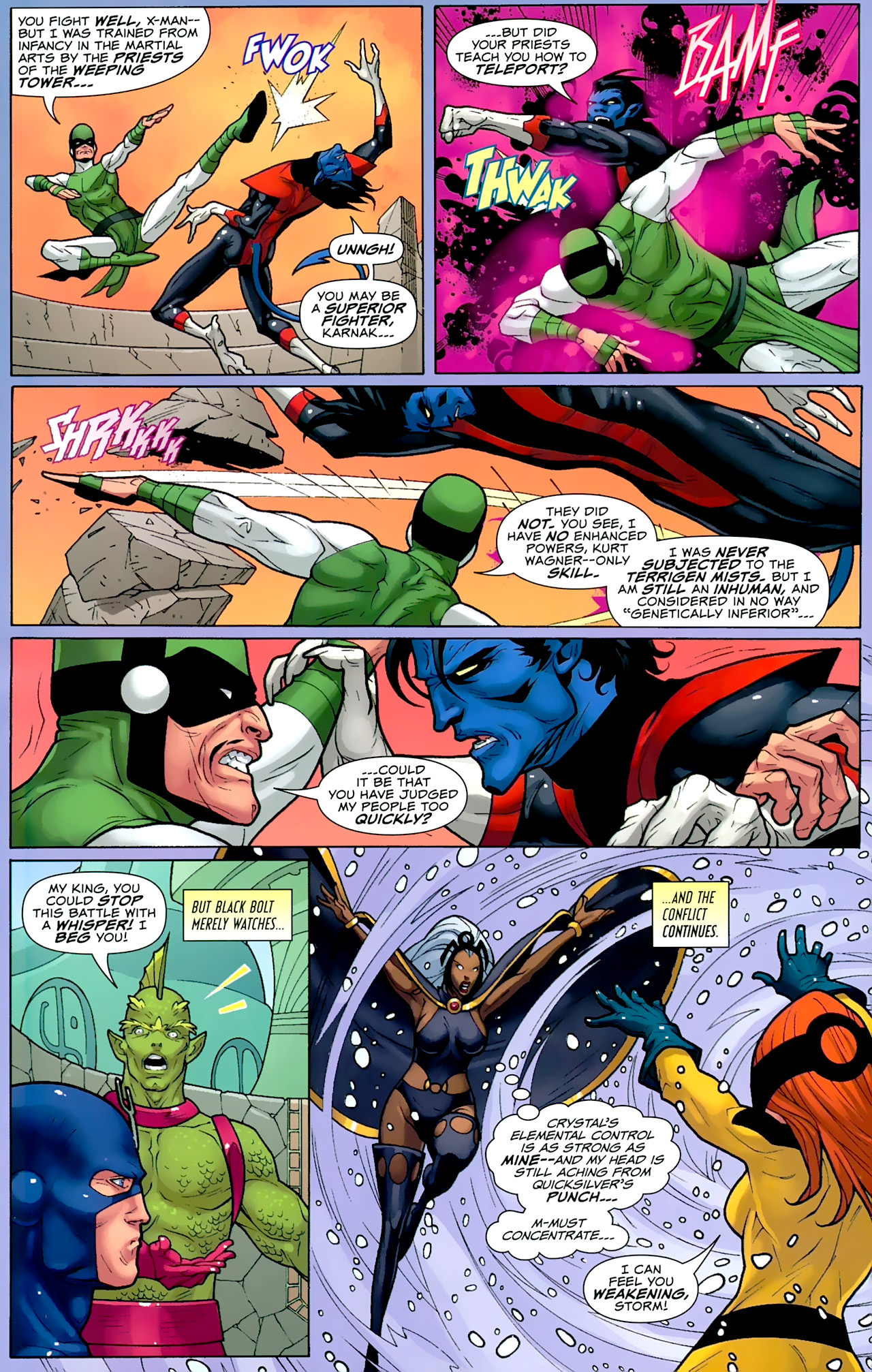 Read online Uncanny X-Men: First Class comic -  Issue #2 - 17