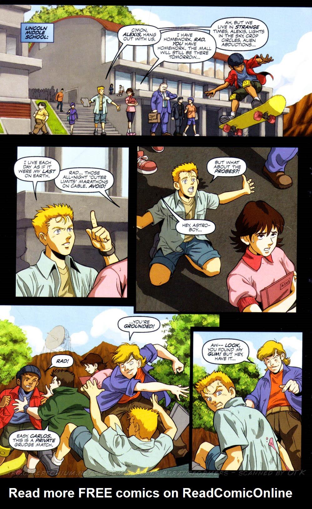 Read online Transformers Armada comic -  Issue #8 - 7