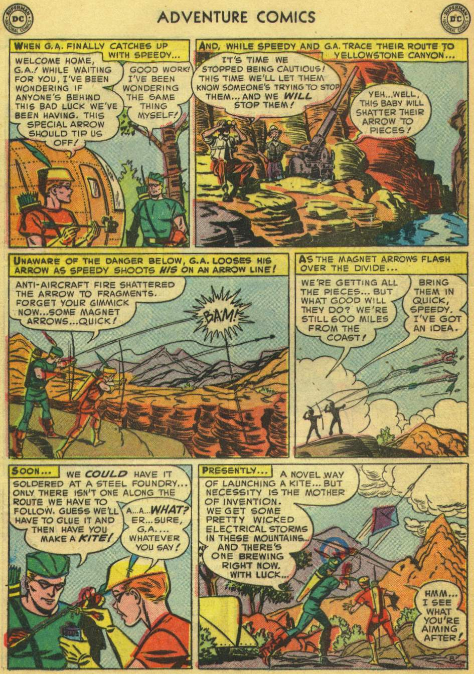 Read online Adventure Comics (1938) comic -  Issue #168 - 42