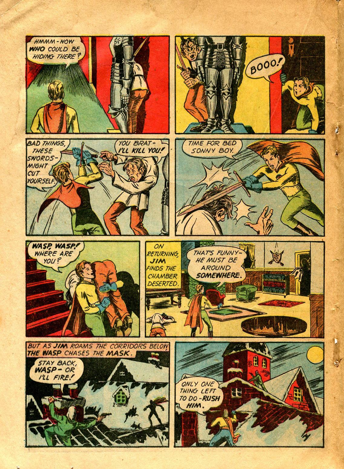Read online Shadow Comics comic -  Issue #9 - 44