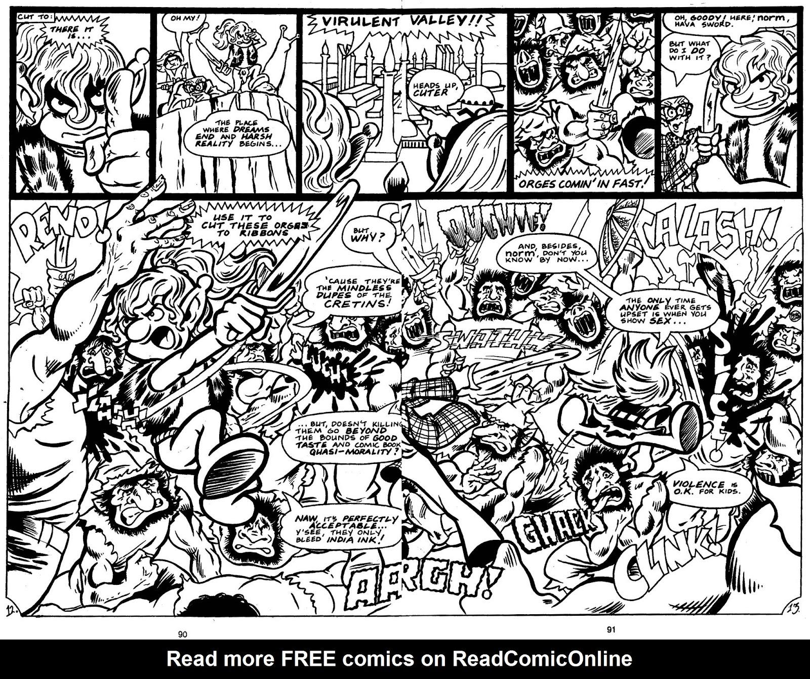 Read online Normalman - The Novel comic -  Issue # TPB (Part 1) - 93
