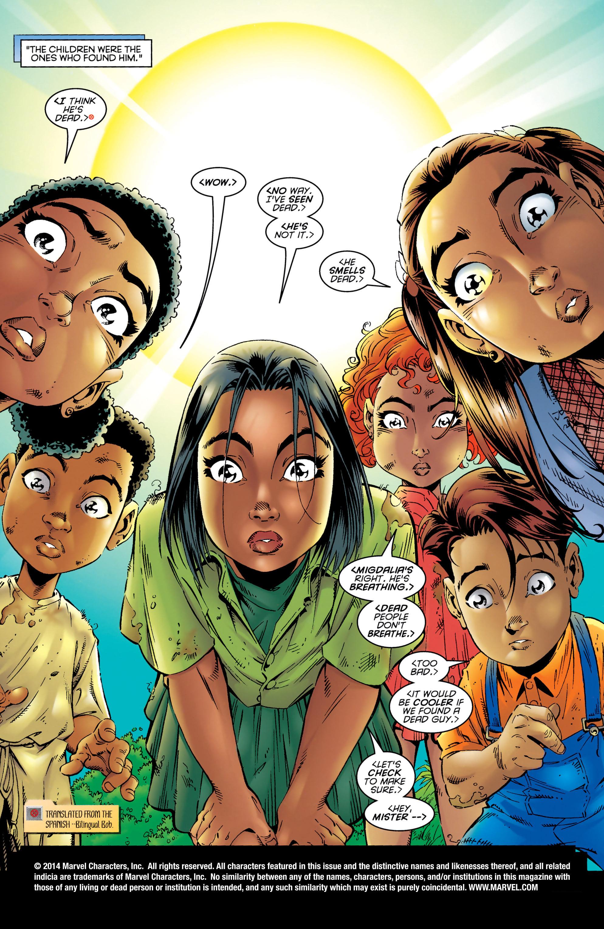 Read online Uncanny X-Men (1963) comic -  Issue #327 - 2